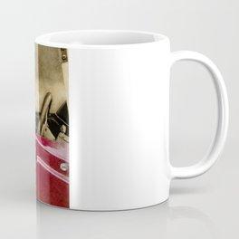 TEDDY GOES FOR A DRIVE Coffee Mug