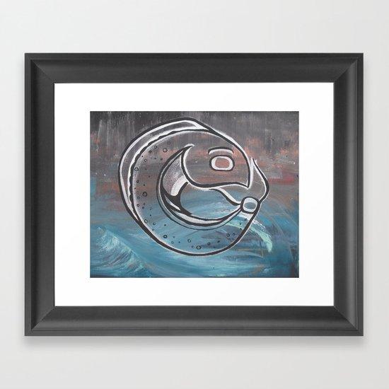 Chinook Framed Art Print