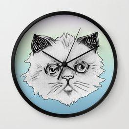 Hypno Cat Wall Clock