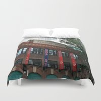 boston Duvet Covers featuring Boston by Gold Street Photography