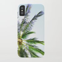 palm trees iPhone & iPod Cases featuring Palm trees by Sary and Saff