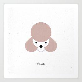 Pedigree: Poodle Art Print