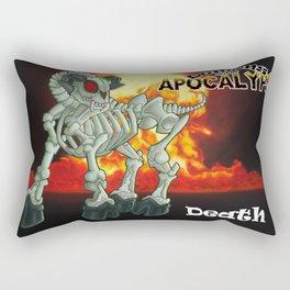 Demons of the Apocalypse - Death Rectangular Pillow