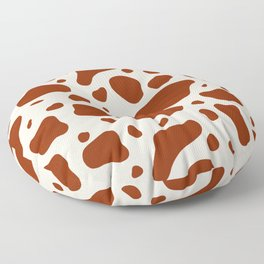 How Now Brown Cow Floor Pillow