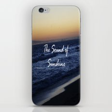 The Sound of Sunshine iPhone & iPod Skin