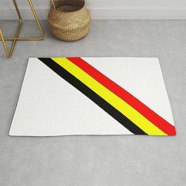 Flag of belgium 4 belgian,belge,belgique,bruxelles,Tintin,Simenon,Europe,Charleroi,Anvers,Maeterlinc Rug