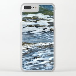 Unrest Clear iPhone Case