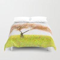tree of life Duvet Covers featuring Life Tree by Joao Bizarro