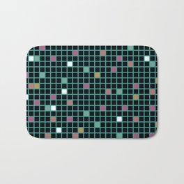 Grid Color Shift Bath Mat