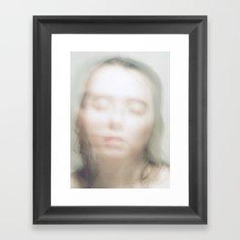 Her Soul, Emerging Framed Art Print