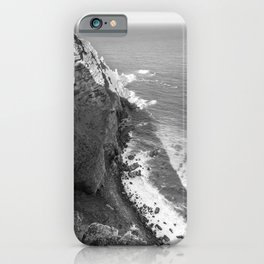 Cliffs along Cape Point, South Africa iPhone Case