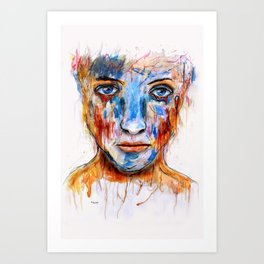 Deep Soul 12 Art Print