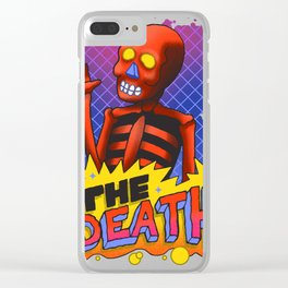 80`s D. Clear iPhone Case