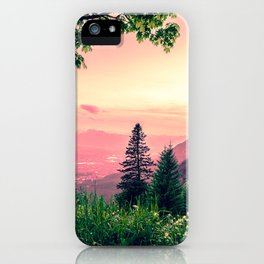 Alpine Fairytale iPhone Case