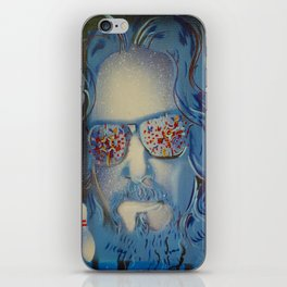 Blue Dude : The Big Lebowski  iPhone Skin