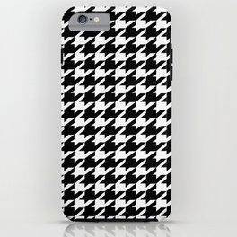 dogstooth iPhone Case