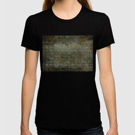 Binary Code with grungy textures T-shirt