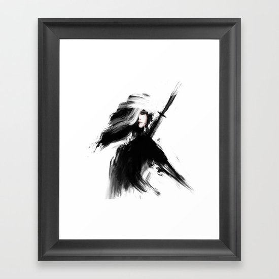 Lux Framed Art Print