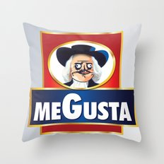 MEGUSTA demais! Throw Pillow
