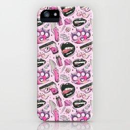 Vampire Girl Gang iPhone Case