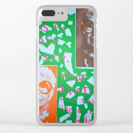 Iris Clear iPhone Case