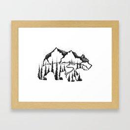 Bear Valley Framed Art Print
