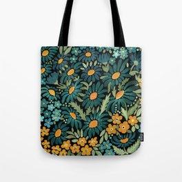 Watercolor . Chamomile field. 2 Tote Bag