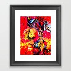 4 Åvengers.  Framed Art Print
