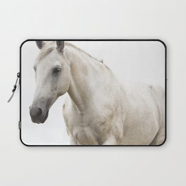 White Horse Photograph Laptop Sleeve