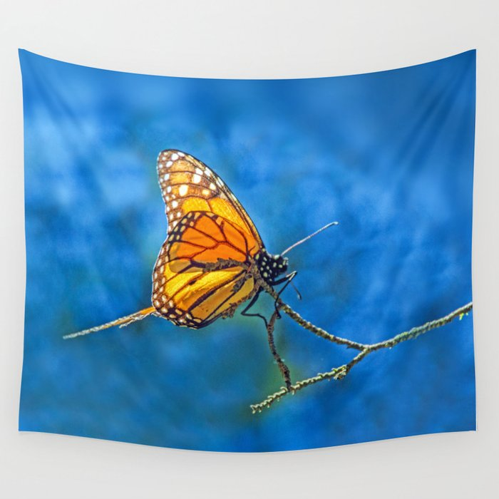 BUTTERFLY LIGHT Wall Tapestry
