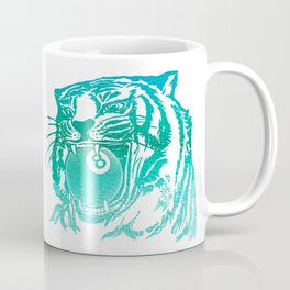8 Ball Tiger Coffee Mug