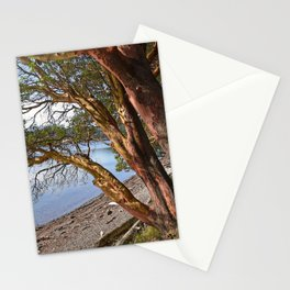 MADRONA TREES EAST END OF CRESCENT BEACH Stationery Cards