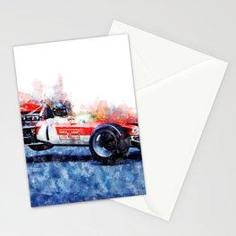 Graham Hill, Nurburgring jump Stationery Cards