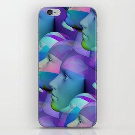 feeling blue together iPhone Skin