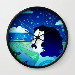 David's Beautiful Imagination Wall Clock