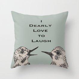 Dearly Love Throw Pillow