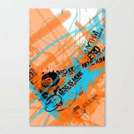 Gonzos Coded, Remixed. 2007_series01_shot11 Canvas Print