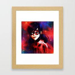 Miraculous Ladybug Spots On Framed Art Print