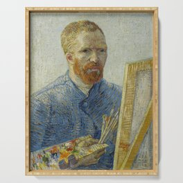 Self Portrait as a Painter Serving Tray