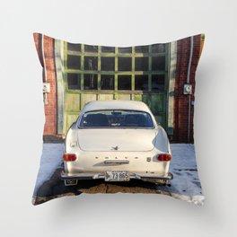 Vintage Class Throw Pillow