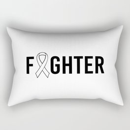 Fighter. Autism awareness mom, puzzle gift special education. Rectangular Pillow