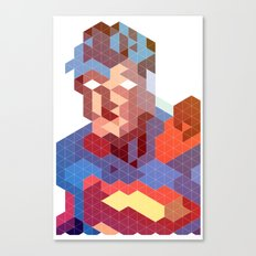 Geometric Super Canvas Print