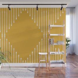 Geo (Yellow) Wall Mural