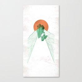 3Lives - Stone Canvas Print