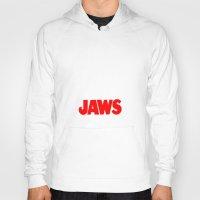jaws Hoodies featuring Jaws by IIIIHiveIIII