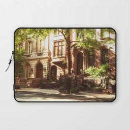 New York City Brownstones Laptop Sleeve