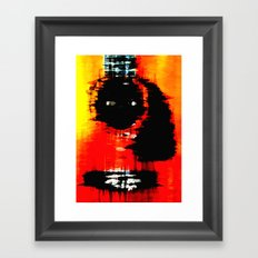 Acoustic Abstract Framed Art Print