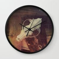 cabin Wall Clocks featuring Cabin by ztwede