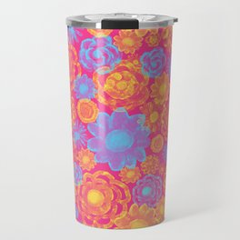 Bright Flowers Extravaganza Travel Mug