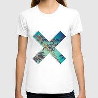 palm trees T-shirts featuring Palm Trees by Zavu